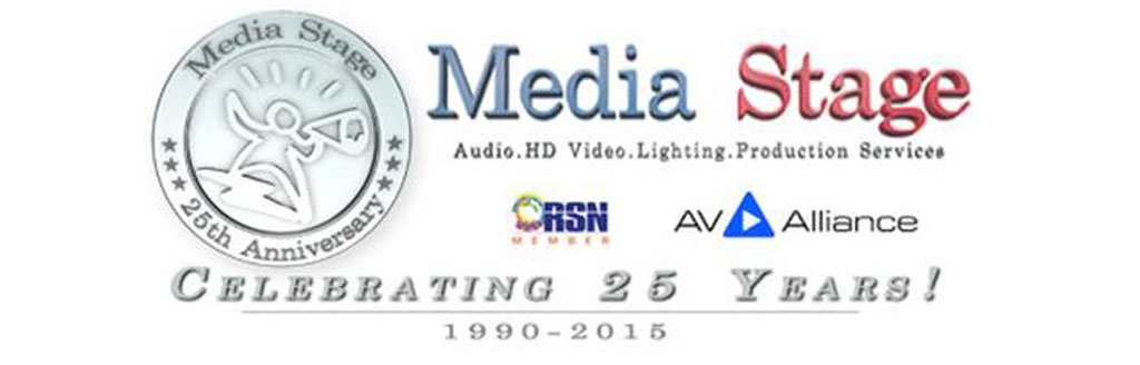 Media Stage 1990-2015: Celebrating 25 years LIVE & WORLDWIDE!