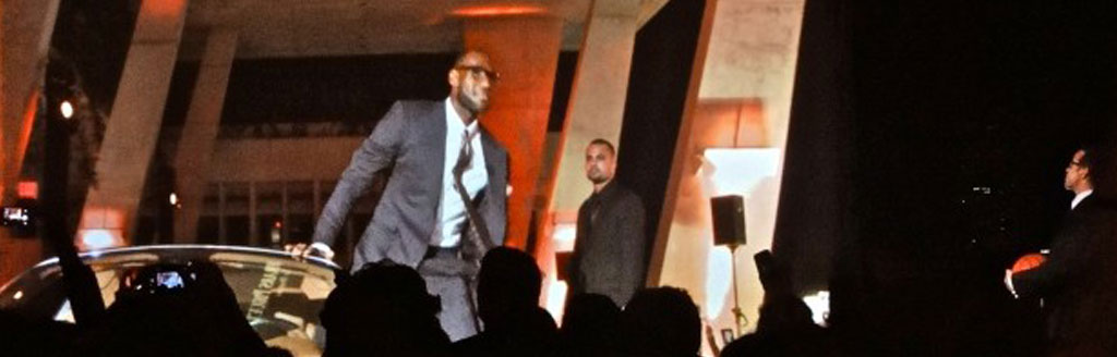 NBA MVP Launches Signature Watch……Media Stage with the assist~!