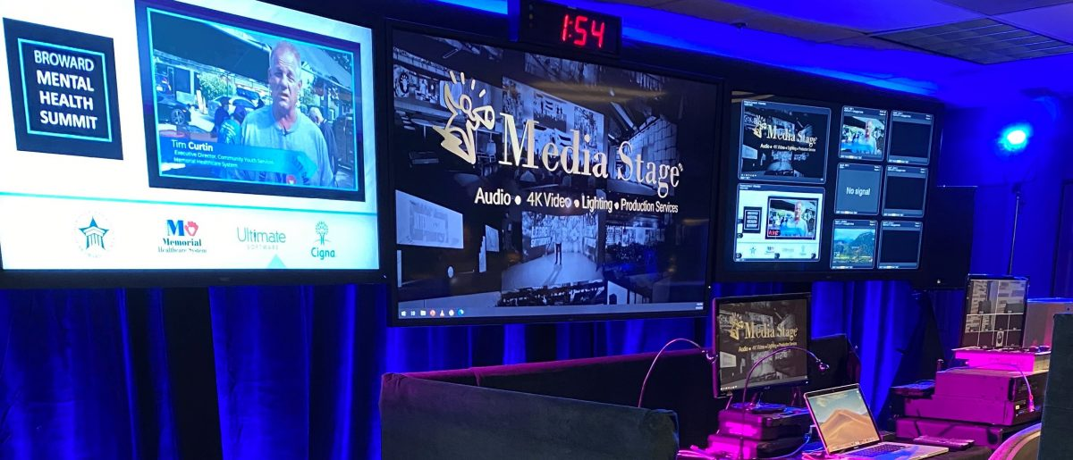 Media Stage produces 3rd Annual Broward Mental Health Summit