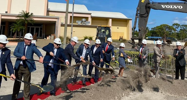 Florida Panthers break ground on new practice facility